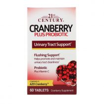 21st Century, Cranberry-Plus-Probiotika, 60 Tabletten