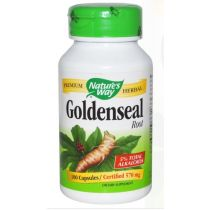Nature's Way, Goldenseal, Root, 570 mg, 100 Capsules