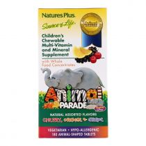 Nature's Plus, Tierparade, 180 Kautabletten