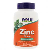 Now Foods, Zink, 50 mg, 250 Tabletten