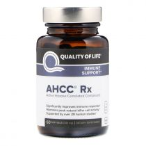 Quality of Life Labs, AHCC RX, 300 mg, 60 Softgelkapseln