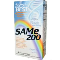 SAM-e 200 mg, Dr. Best´s, 60 Kaps