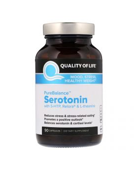 Quality of Life Labs, Pure Balance, Serotonin, 90 vegetarische Kapseln