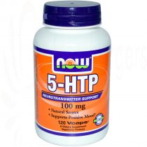 5-HTP, Now Foods 120 Vcaps