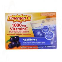 Emergen-C, Vitamin C, Acai Berry, 1,000 mg, 30 Packets