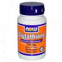 Glutathione 250 mg, Now Foods, 60 Caps    VCap