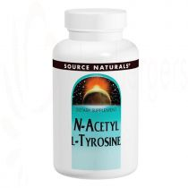 N-Acetyl-L-Tyrosine, Source Naturals, 120 Tabletten, 300mg