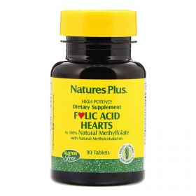 Nature's Plus, Folsäure, 90 Tabletten